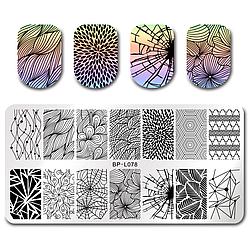 Пластина для стемпинга BORN PRETTY™ (BP-L078), для дизайна ногтей