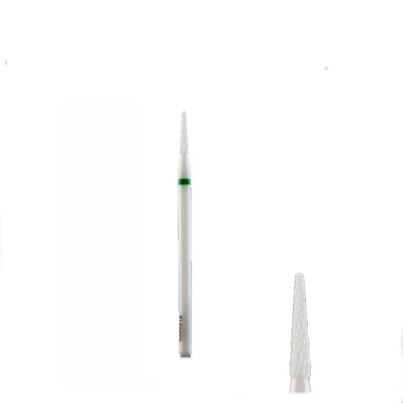 Керамічна насадка гостра голка зелена