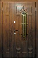 """Двери входные полуторные Модель """"Лучия"""" (дуб бронза), фото 1"""