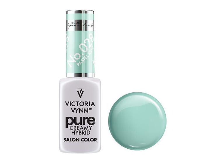 Крем-гель від Виктрии Вінн, Pure Creamy Hybrid, Victoria Vynn, 028 , pastel mint