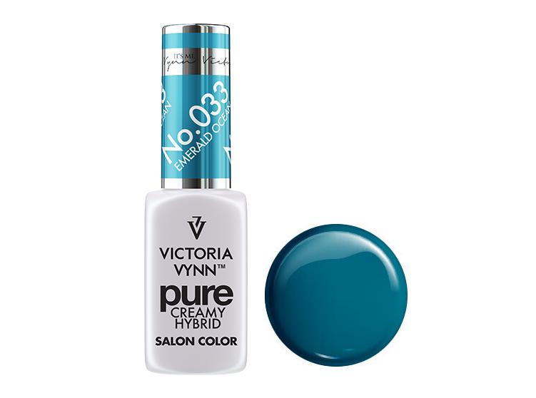 Крем-гель від Виктрии Вінн, Pure Creamy Hybrid, Victoria Vynn, 033 , emerald ocean