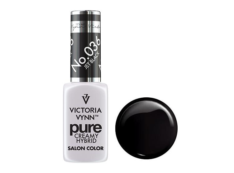 Крем-гель від Виктрии Вінн, Pure Creamy Hybrid, Victoria Vynn, 036 , jet black