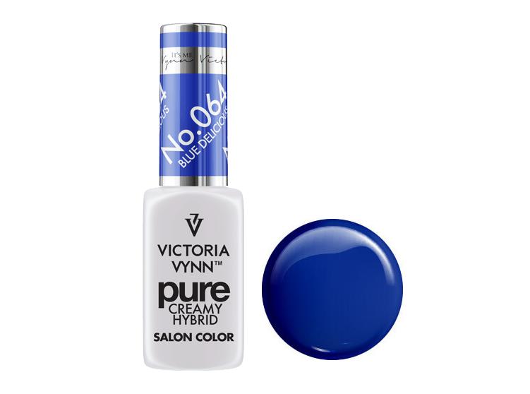 Крем-гель от Виктрии Винн,  Pure Creamy Hybrid, Victoria Vynn, 064, blue delicious