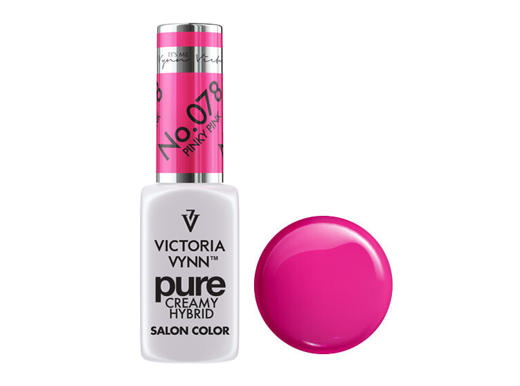 Крем-гель от Виктрии Винн,  Pure Creamy Hybrid, Victoria Vynn, 078 , pinky pink