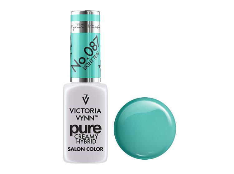 Крем-гель от Виктрии Винн,  Pure Creamy Hybrid, Victoria Vynn, 087 , light teal