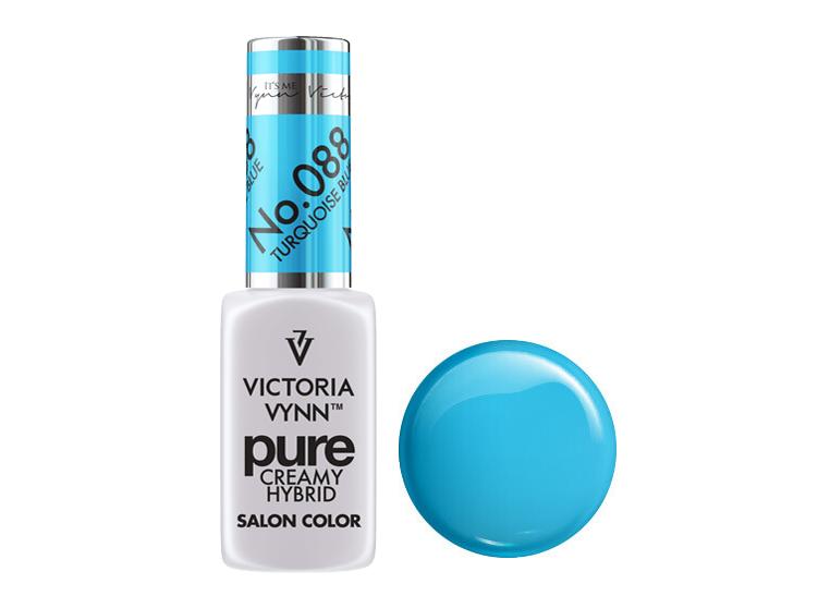 Крем-гель от Виктрии Винн,  Pure Creamy Hybrid, Victoria Vynn, 088, turquoise blue