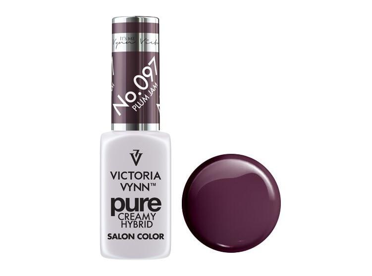 Крем-гель от Виктрии Винн,  Pure Creamy Hybrid, Victoria Vynn, 097 , plum jam