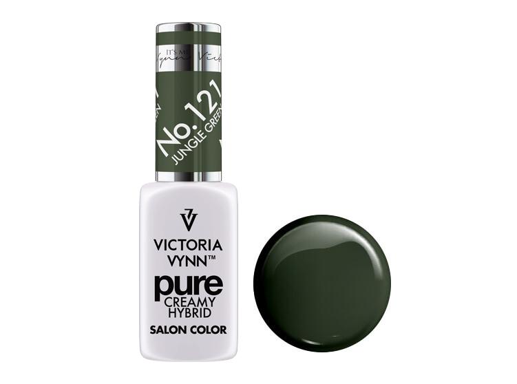 Крем-гель от Виктрии Винн,  Pure Creamy Hybrid, Victoria Vynn, 121 , jungle green