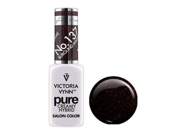 Крем-гель от Виктрии Винн,  Pure Creamy Hybrid, Victoria Vynn, 137 ,  burgund madame