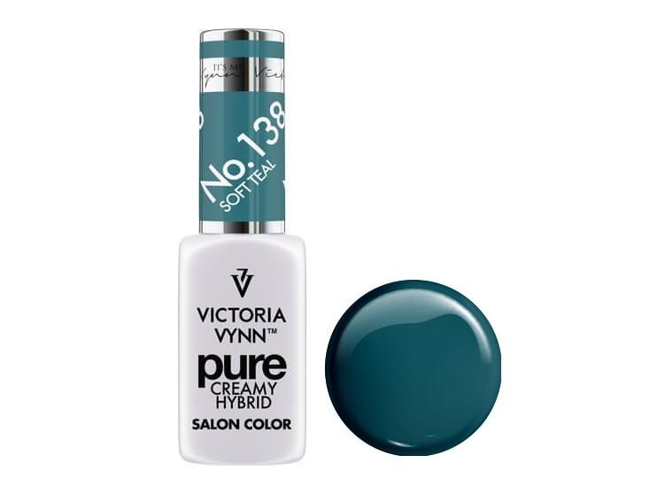 Крем-гель от Виктрии Винн,  Pure Creamy Hybrid, Victoria Vynn, 138 , soft teal