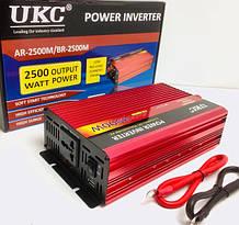 Преобразователь AC/DC UKC AR-2500M/3052 12V/220V/ 2500WAT (10 шт)