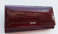 Жіночий шкіряний гаманець Balisa 116-1013А-4 бордо Шкіряні жіночі гаманці з візитницею, фото 1