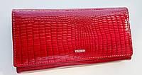 Жіночий шкіряний гаманець Balisa 826-30 червоний Шкіряний жіночий гаманець на магніті, фото 1