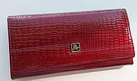 Жіночий шкіряний гаманець Balisa 826-30 т. червоний Купити жіночий шкіряний гаманець на магніті, фото 1