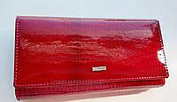 Жіночий шкіряний гаманець Balisa 152-103А-2 червоний Жіночий шкіряний гаманець на магніті з візитницею, фото 1