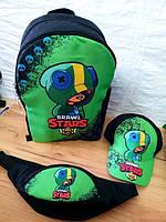 Рюкзак дошкольный Brawl Stars