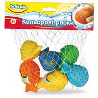 Игрушка для ванной BeBeLino Цветные рыбки (57090)