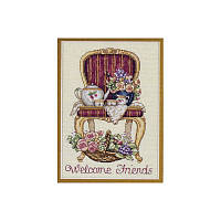 Набор для вышивания DIMENSIONS «Teatime Welcome • Время чаепития» 06954