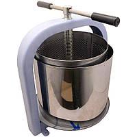Пресс винтовой для сока яблок, винограда, овощей 20 литров «ЛАН» + мешок для сока
