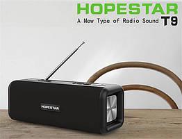 Портативная стерео колонка Hopestar T9 ( мегамощная )