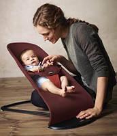 Кресло шезлонг Balance BABYBJÖRN. Детское тканевое кресло от 3,5 до 13 килограмм