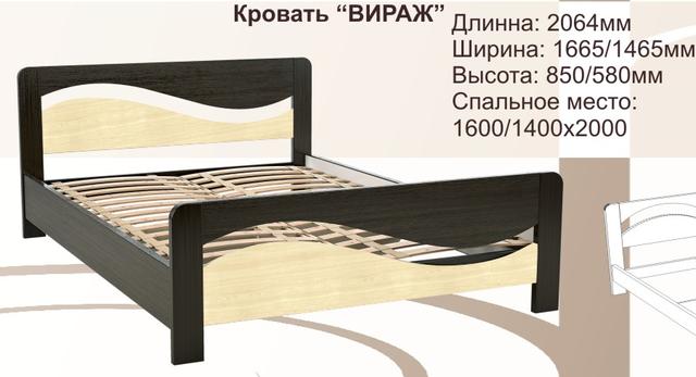 Кровати МДФ