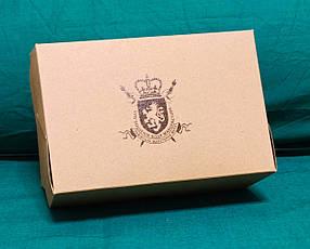 Коробка подарочная картонная крафтовая, фото 2