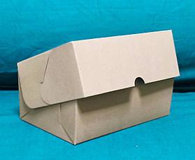 Коробка подарочная картонная крафтовая, фото 3