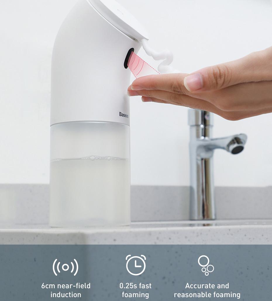 Автоматический дозатор мыла Baseus Minipeng Hand Washing Machine