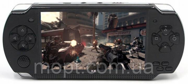 """Консоль приставка портативная игровая PSP X6 8гб 4.3"""" экран ТВ"""