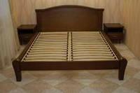 Кровать деревянная дубовая