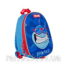 Рюкзак детский 1Вересня K-43 Sharks  558544