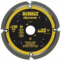 Диск пильный DeWALT 190х30 мм (DT1472)