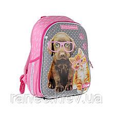 Рюкзак школьный каркасный 1Вересня Н-27 Keit Kimberlin  558216