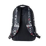 Рюкзак школьный SMART TN-07 Global черн/бел  558633, фото 4