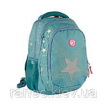 Рюкзак школьный YES T-22 Star серебро  558267