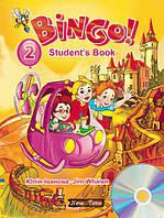 Учебник английского языка Bingo Нью Тайм Книга для ученика + CD Уровень 2 (укр), фото 1