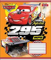 Тетрадь 12 листов клетка А5 набор 25 шт. в упаковке 1 Вересня CARS RACE   764461, фото 1