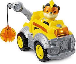 Щенячий патруль Paw Patrol Могучие Щенки Крепыш Mighty Pups Super Paws Rubble s Deluxe Vehicle