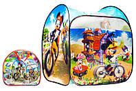 Дитячий ігровий намет YG Toys з малюнками мультгероїв 85*85*100см. Різнокольоровий А999-172