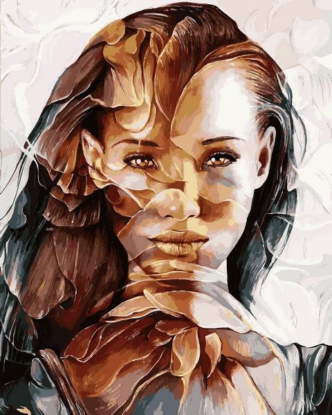 Картина по номерам 40×50 см. Babylon Портрет мечты Художник Siena Summers (VP 1179)
