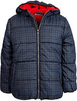 Качественная зимняя куртка-пуховик для мальчиков