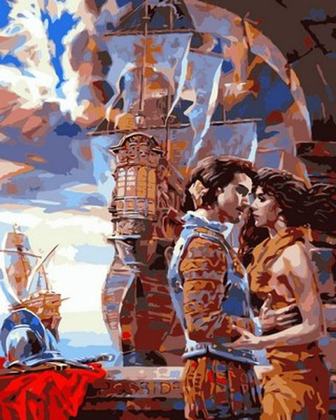 Картина по номерам 40×50 см. Babylon Прощание конкистадора Художник Алексей Лашкевич (VP 678)