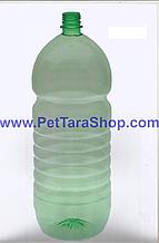 ПЭТ Бутылка 3 ЛИТРА Прозрачная с крышкой и ручкой