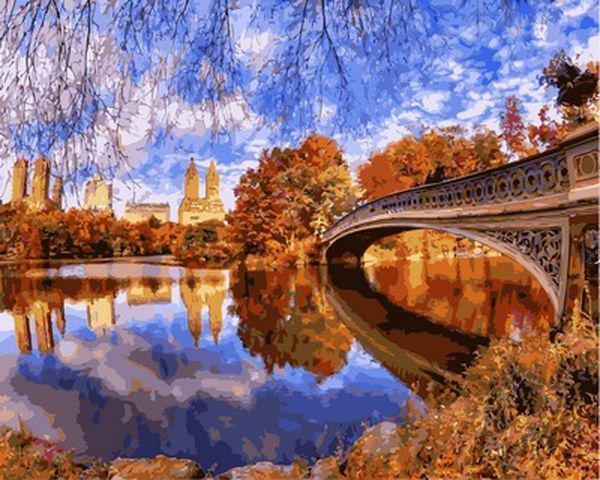 Картина по номерам 40×50 см. Babylon Центральный парк в Нью-Йорке (VP 910)