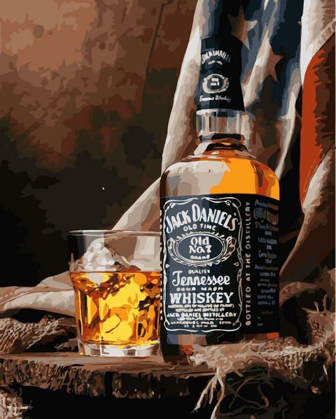 Картина по номерам 40×50 см. Babylon Теннесси Виски Джек Дэниэлс (VP 1115)