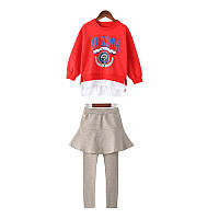 Костюм для девочки Аризона, красный Berni Kids (110)