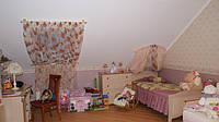 шторы для детской: стиль прованс