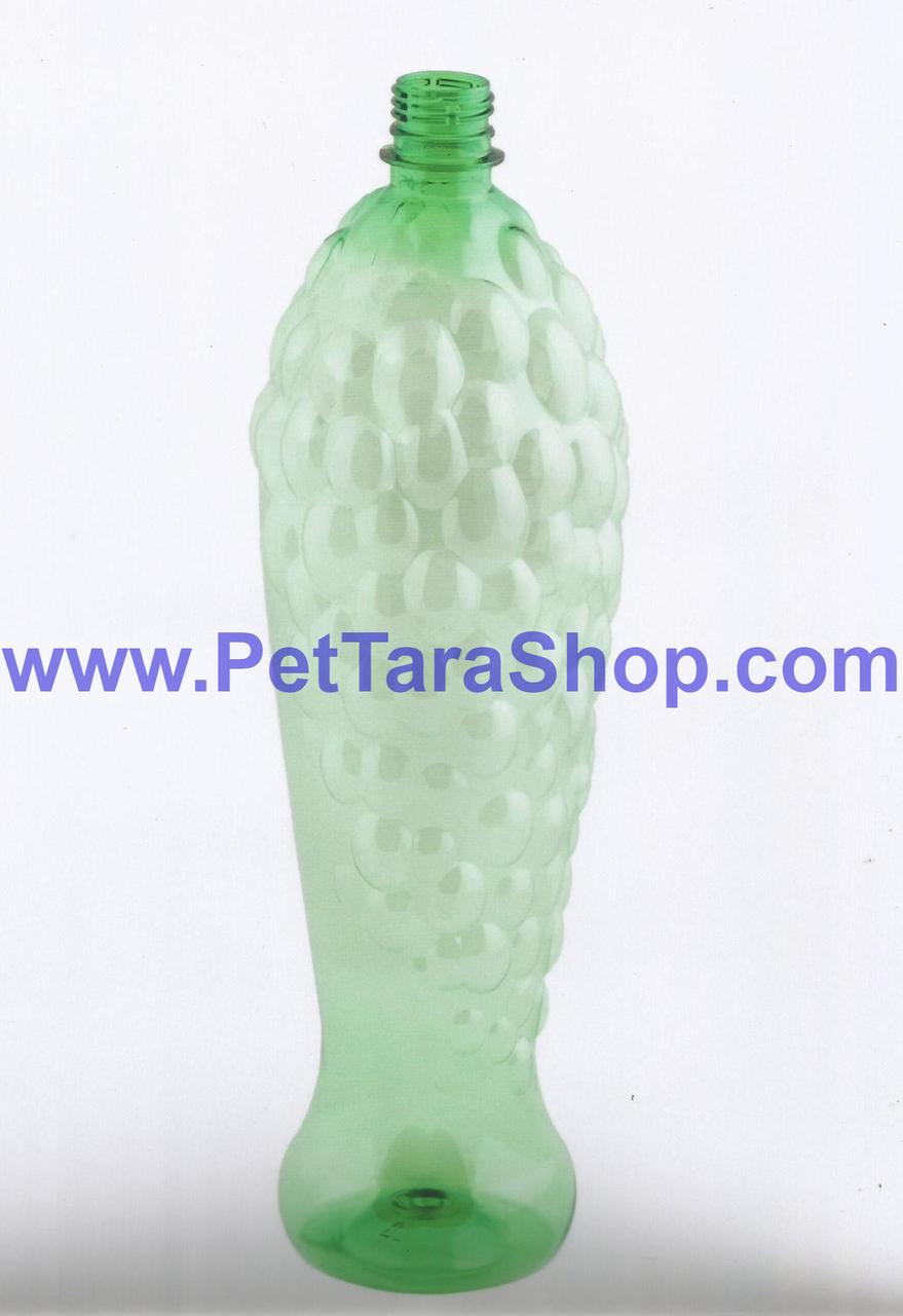 Пляшка ПЕТ сувенірна Прозора 1,5 л з кришкою