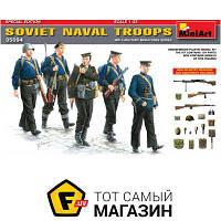 Модель 1:35 - Miniart - Soviet Naval Troops. Special Edition (MA35094) пластмасса